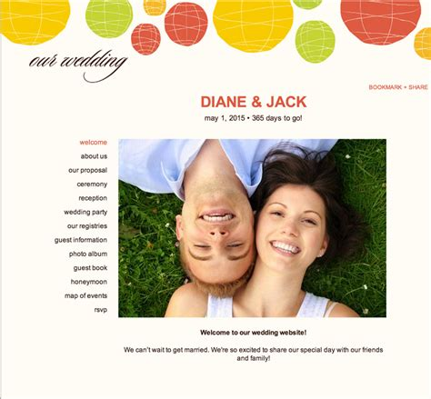 Wedding Budget Website by Ask Wedding Website Exles The Budget Savvy