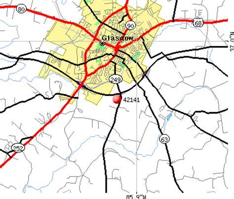kentucky map glasgow 42141 zip code glasgow kentucky profile homes