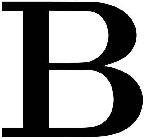 the b decorative letter b clipart best