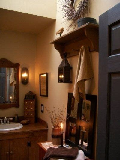 primitive decorating ideas for bathroom primitive inspired bathroom bath ideas juxtapost