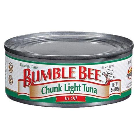 bumble bee chunk light tuna bumble bee chunk light tuna in 5 oz union pharmacy miami
