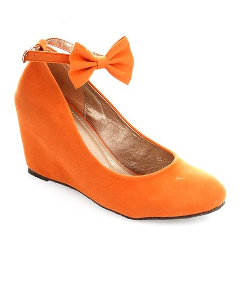 Wedges 5r orange wedges pictures to pin on pinsdaddy