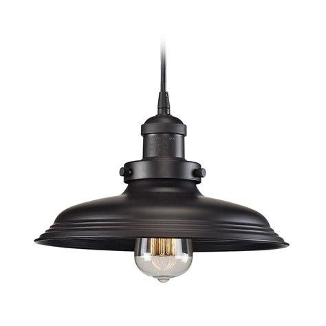oil rubbed bronze pendant light pendant light in oil rubbed bronze finish 55041 1