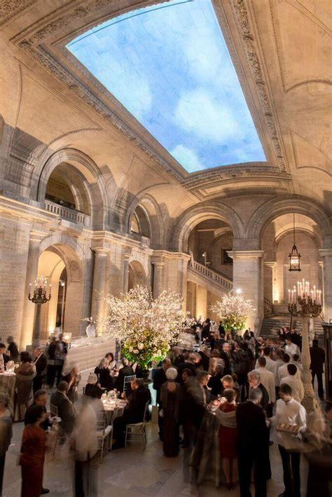 york wedding public library transformed  garden