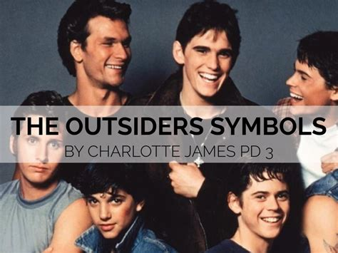 different themes in the outsiders the outsiders symbols by charlottecjames