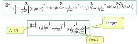 diagramme de bode exercice corrigé si etude d un filtre de wien concours mines 06