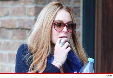 Lindsay Lohan Breaks by Lindsay Lohan By Driving And Crashing