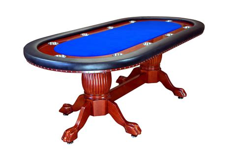 94 quot rockwell holdem table with wood legs 4