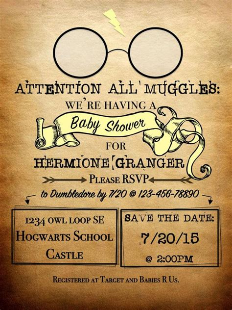 free harry potter place card template harry potter invitations on 100 inspiring