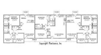 Triplex Floor Plans by Triplex Plan J1031 T