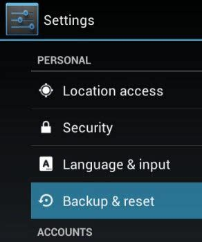 reset android sd card how to factory reset your android phone and tablet