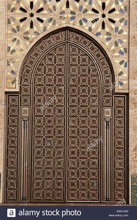 masjid entrance design morocco casablanca hassan ii mosque exterior double