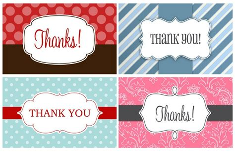 thank you labels template free thank you printables clip printables