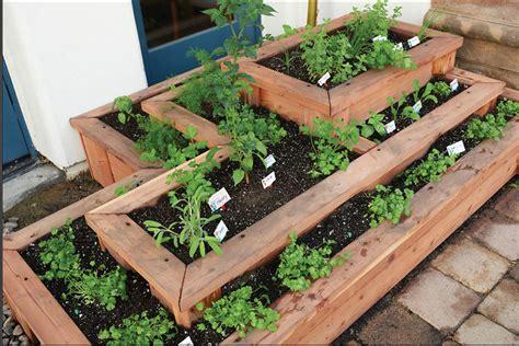 Boxed Garden Ideas Garden Design Garden Design With How To Plant Herbs In