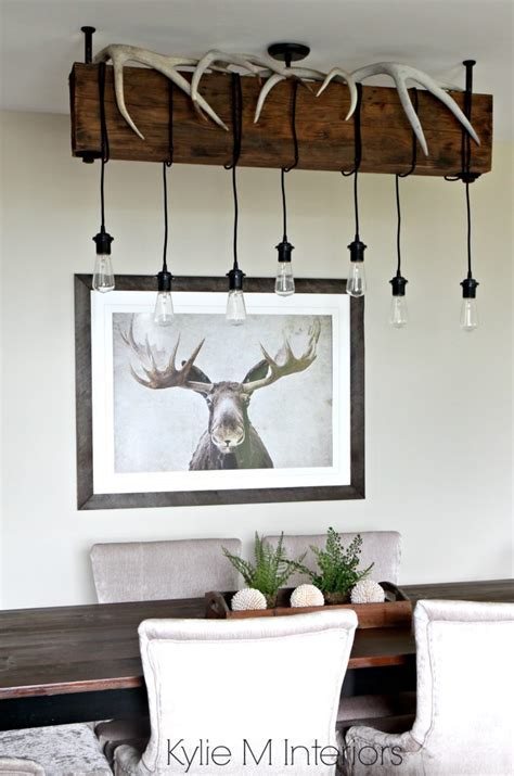 Benjamin Moore Grant Beige, Rustic, hunting decor with