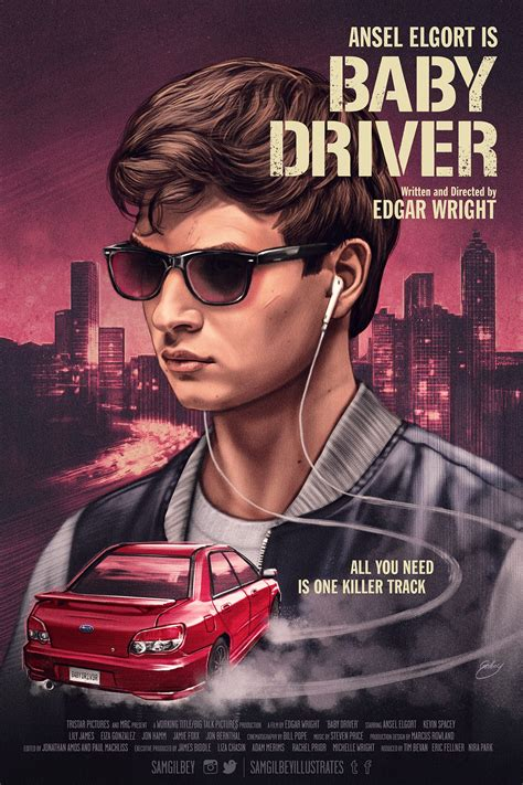 Baby Driver baby driver poster by sam gilbey tv posters hd and