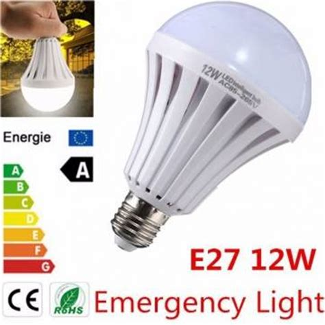 Yanuo Rechargeable Emergency Bulb Light White e27 12w led emergency light bulb white smd 5730