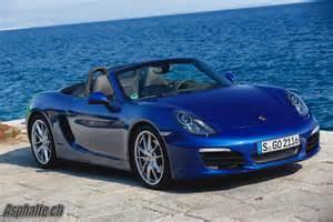 Porsche 981 Problems Essai Porsche Boxster S Asphalte Ch