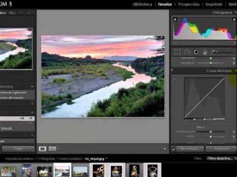 adobe lightroom 3 tutorial fotos aufhellen youtube adobe lightroom 3 espa 241 ol m 225 s r 225 pido e intuitivo youtube