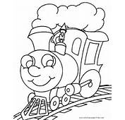 Steam Train Color Pages  Coloring For Kids