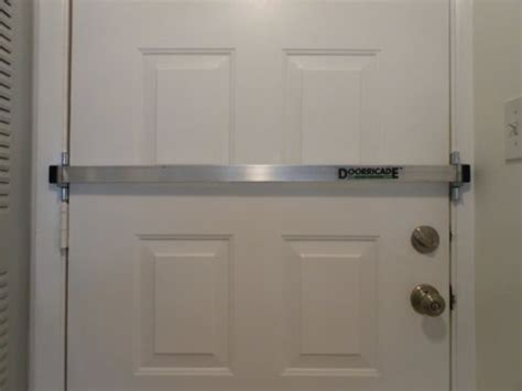 Best Garage Door Security by Best Buy Doorricade Door Bar Reviews Door Security Bar
