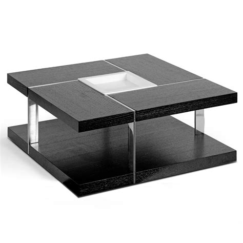 home decor aira square coffee table with tray top
