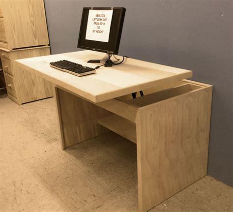 Custom Standing Desk by Furniture Built By Design Desert Design Furniture