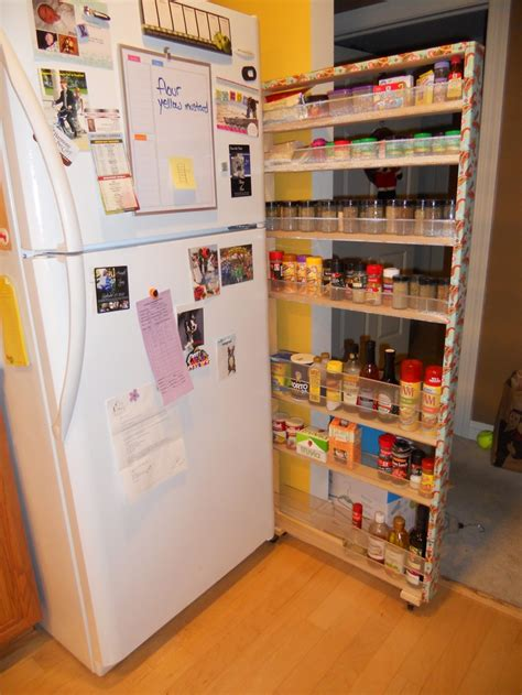 Fridge Spice Rack pin by barb on ideas