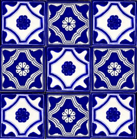 tile pattern en español mexican tile blue white tiles pinterest spanish
