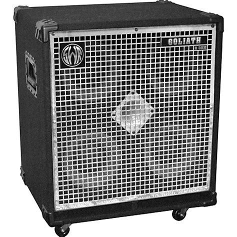 8 ohm bass speaker cabinet swr goliath iv 4x10 bass speaker cabinet musician s