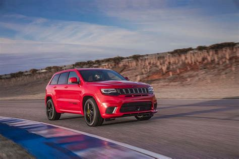 Jeep Horsepower Jeep S 707 Hp Grand Trackhawk Revealed