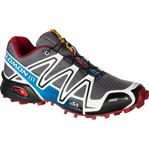 salomon speedcross 3 trail running shoes mens salomon speedcross 3 climashield trail running shoe
