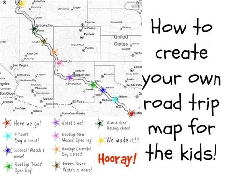 make trip map how to create your own road trip map for the