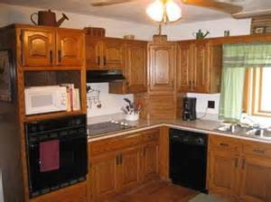 How to update outdated oak kitchen cabinets good questions