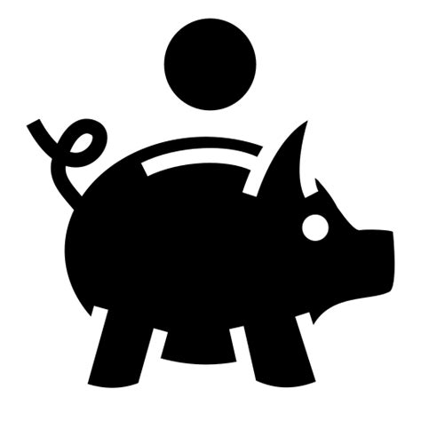 piggy bank icon svg  png game iconsnet
