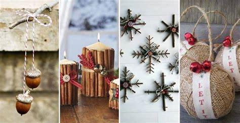 weihnachts deko natur ideen zum selbermachen bilder