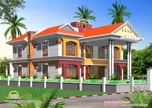 double story house elevation kerala home design and