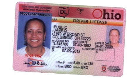 indiana id card template indiana drivers license template