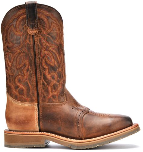 h and h boots h steel toe western roper boots dh3567