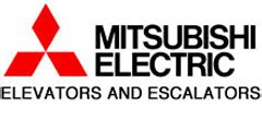 mitsubishi electric elevator logo general contractors facility management security