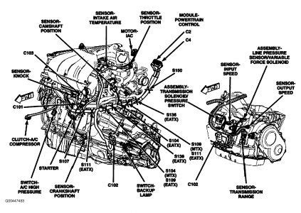 2001 chrysler pt cruiser cooling fan wiring diagram 2001
