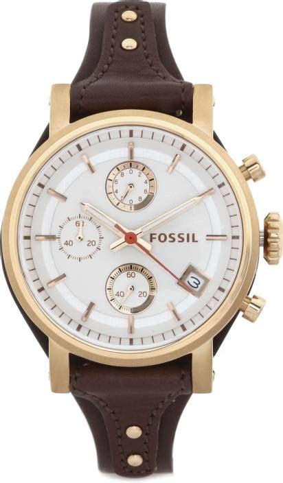 Fossil Es3616 By Fossil fossil s original boyfriend brown leather es3616