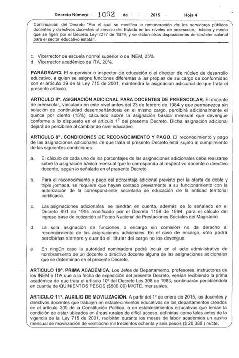 decreto salarios publicos 2015 decreto salarios funcionarios publicos 2015 autos post