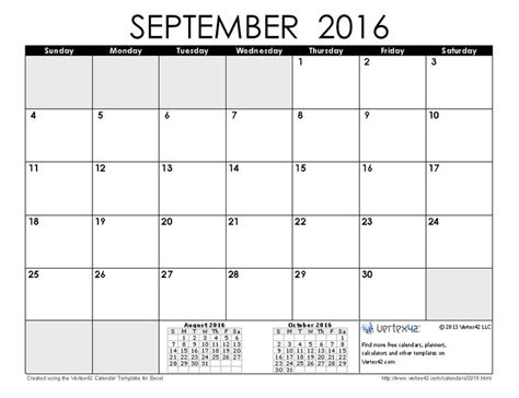 Calendar Planner 2016 Calendar Planner September 2016 Fotolip Rich Image