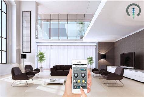 futuristic style home automation with linear actuators