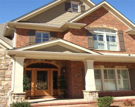 brick siding ideas exterior house colors with orange brick interior designs flauminc