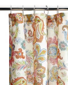 hilfiger lacroix floral shower curtain century