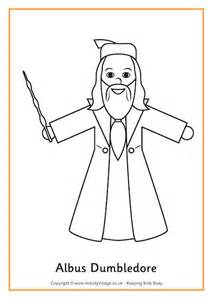 harry potter coloring pages easy albus dumbledore colouring page