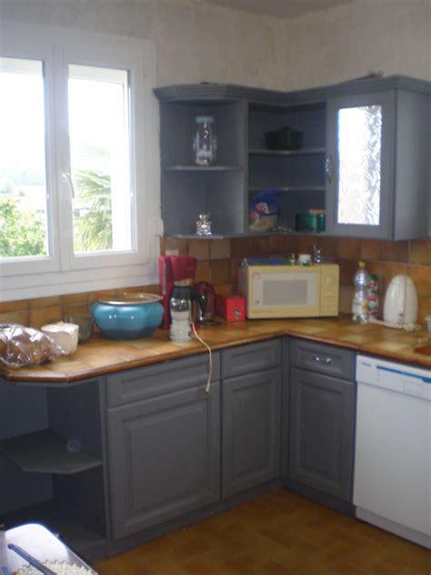peindre une cuisine rustique photos de cuisine repeinte cuisine cuisine repeinte du