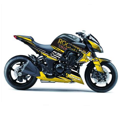Kawasaki Z1000 Felgenaufkleber by 4moto Shop Kawasaki Z1000 Quot Rockstar Quot 2011 2013 Dekor